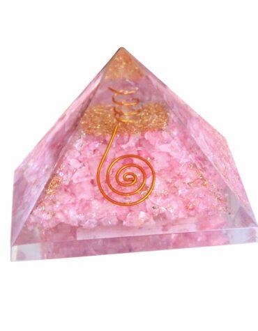 Rose Quartz Organ Pyramid LN028PYBJJ